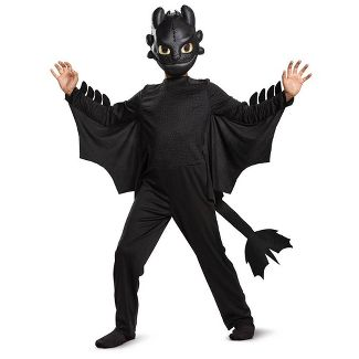 Toddler Boys' Toothless Classic Halloween Costume 3T-4T