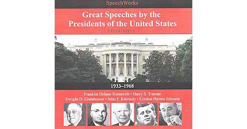 Great Speeches by the Presidents of the United States 1933-1968 : Library Edition (CD/Spoken Word) - image 1 of 1