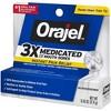 Orajel 3X Medicated For All Mouth Sores Gel - 0.42oz - image 3 of 3