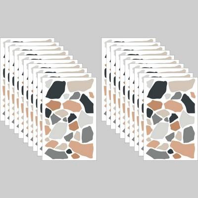 20ct Tile Decals Terrazo - Bullseye's Playground™