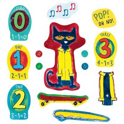 Little Folk Visuals Four Groovy Buttons Felt Set - 14 Pcs