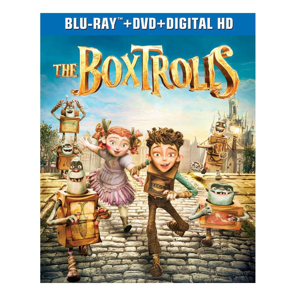 The Boxtrolls (2 Discs) (Includes Digital Copy) (UltraViolet) (Blu-ray/Dvd)