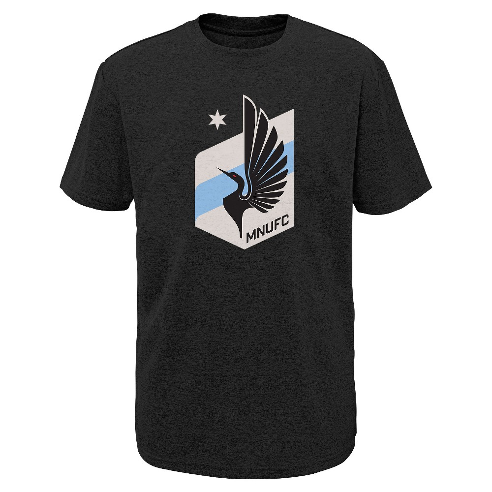 Mls Boys Poly T-Shirt Minnesota United FC - L, Multicolored