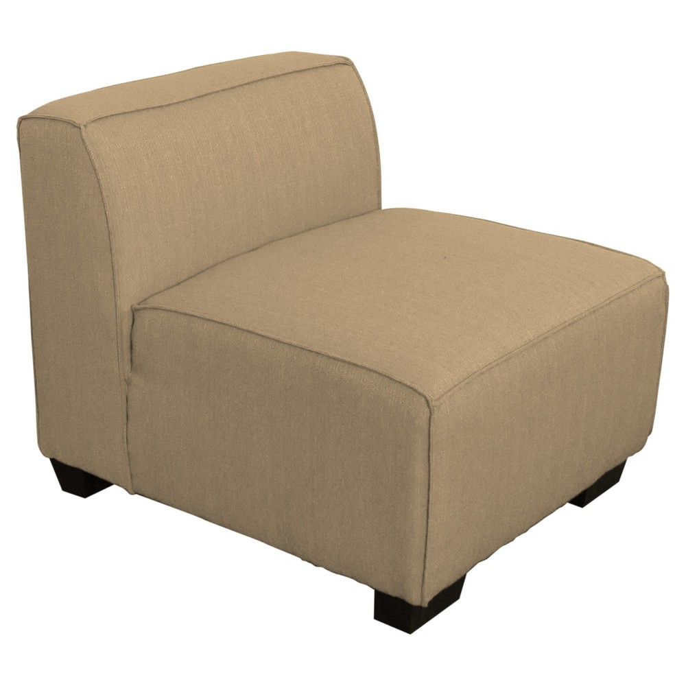 Lida Middle Sectional Seat - Beige - Corliving