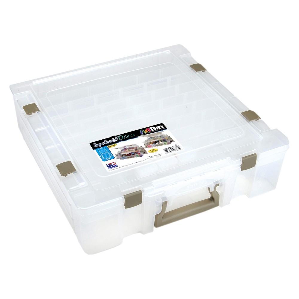 Art Bin Scrapbooking Tool Organizer Clear