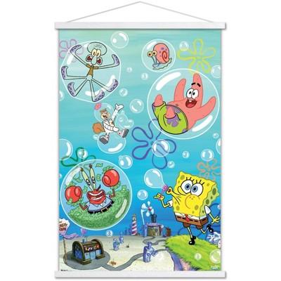Trends International Nickelodeon Spongebob - Bubbles Unframed Wall Poster Print