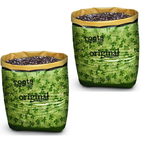 Roots Organics Hydroponic Gardening Coco Fiber Potting Soil, 1.5 cu ft (2 Pack) - image 1 of 2