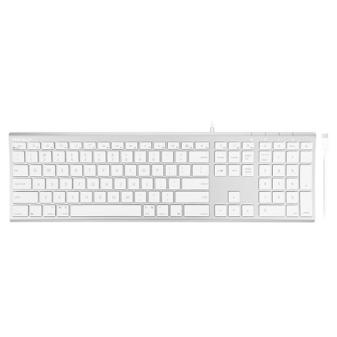 Macally Ultra Slim USB-C Wired Full Size With Numeric Keypad - image 1 of 4