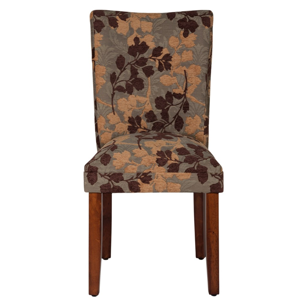 Parsons Dining Chair Brown - HomePop was $119.99 now $89.99 (25.0% off)