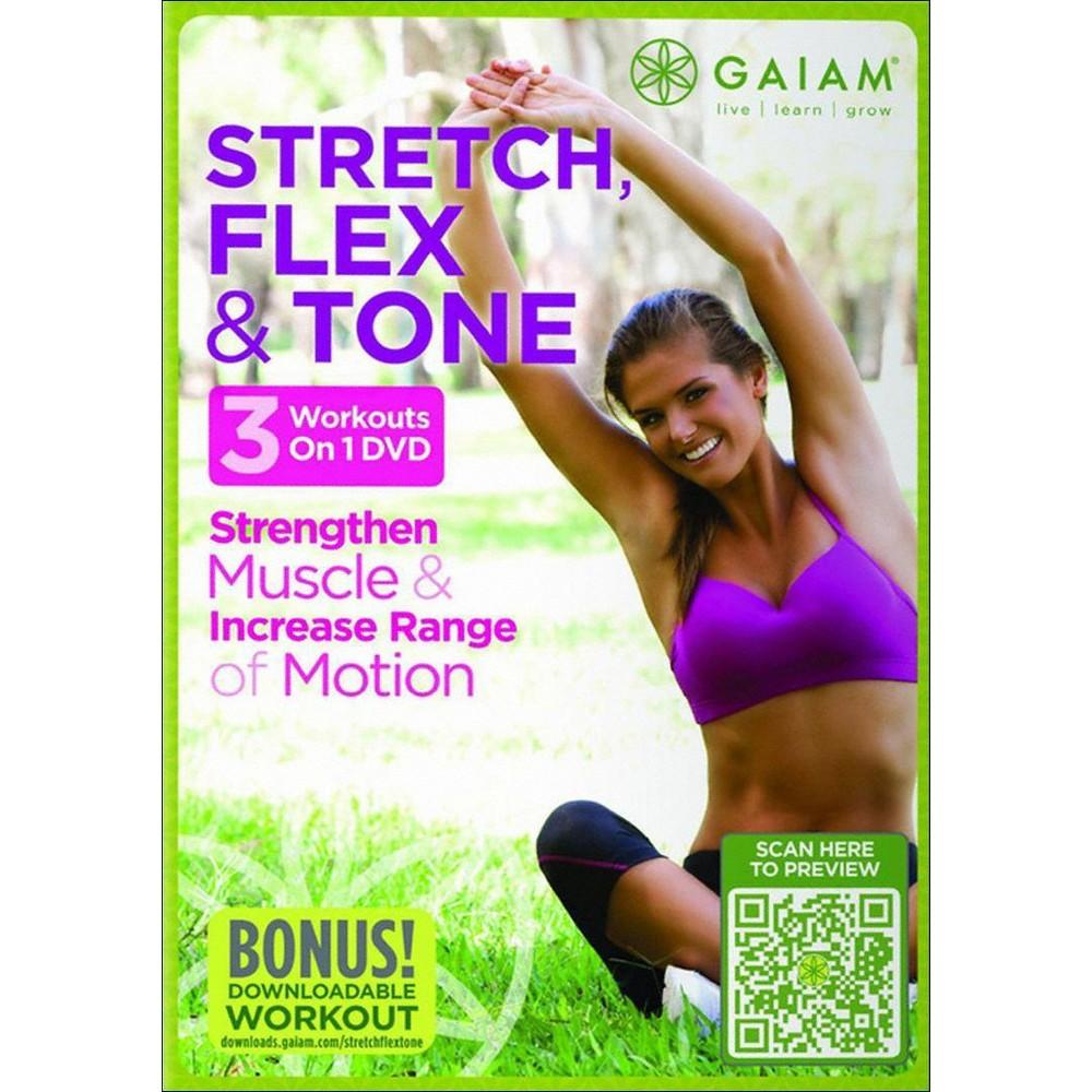 Stretch Flex & Tone (Dvd)