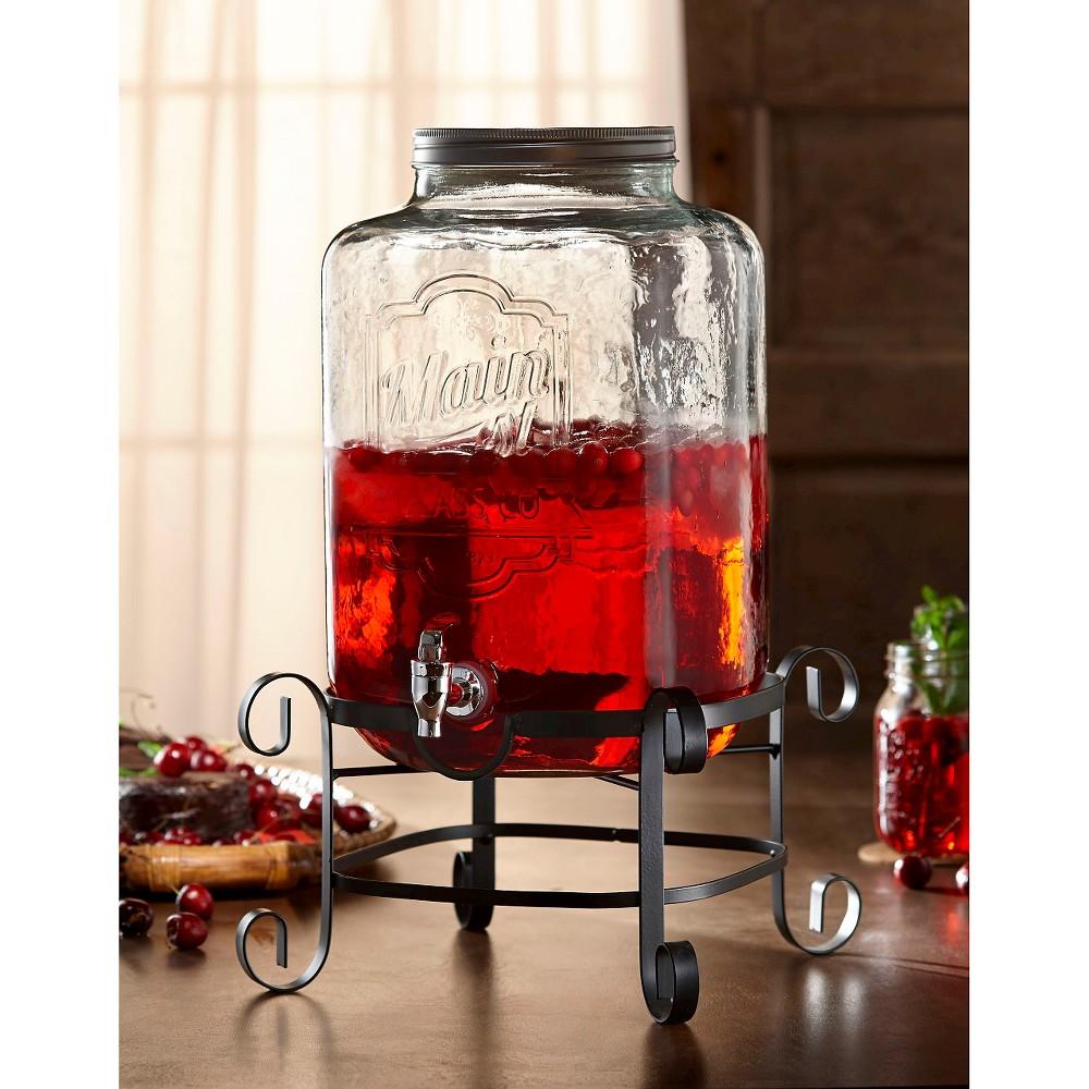 Image of American Atelier Main Street Beverage Dispenser, Clear
