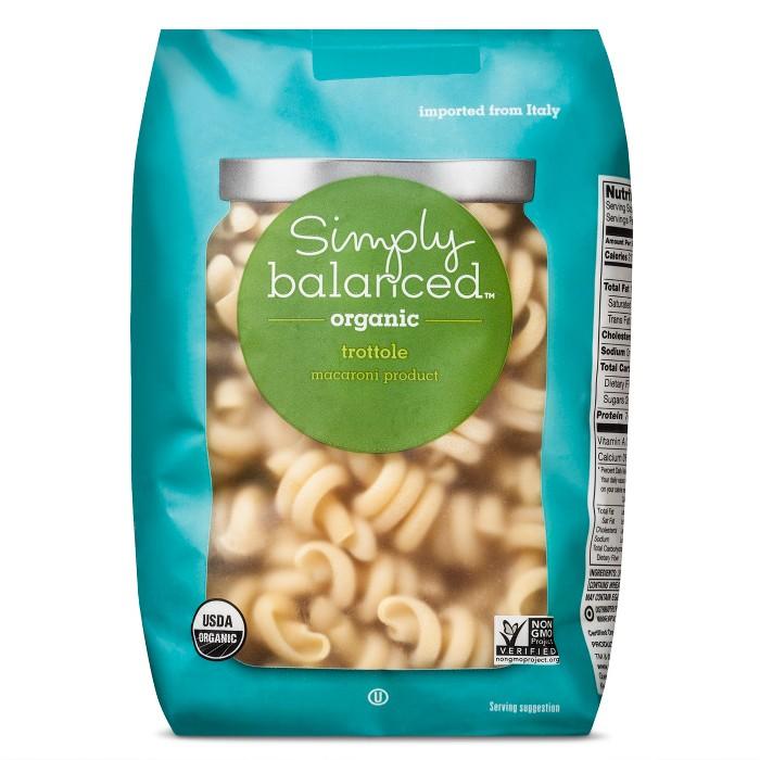 Organic Trottole Pasta - 16oz - Simply Balanced™ - image 1 of 3