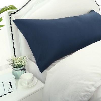 "1 Pc 20""x60"" 1800 Microfiber Envelope Pillow Cases Navy - PiccoCasa"