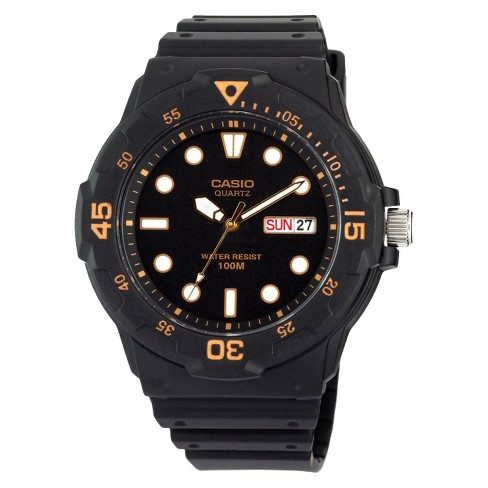 Casio Men's Dive Style Watch - Black (MRW200H-1EVCF) - image 1 of 3