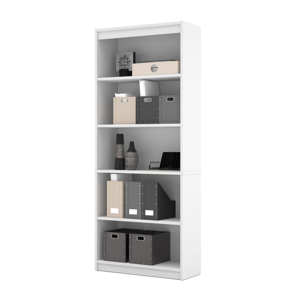 72 Standard Bookcase White - Bestar