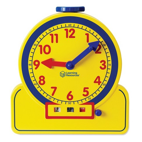 Learning Resources Primary Time Teacher 12-Hour Clock - image 1 of 4