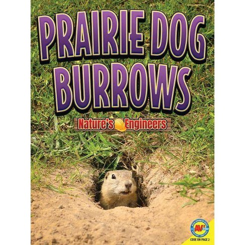 Prairie Dog Burrows - (Nature's Engineers) by  Christopher Forest (Paperback) - image 1 of 1