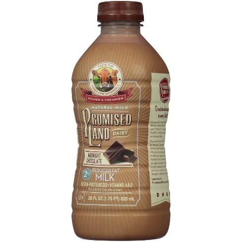 Promised Land Midnight Chocolate Flavored 2% Milk - 28 fl oz - image 1 of 2