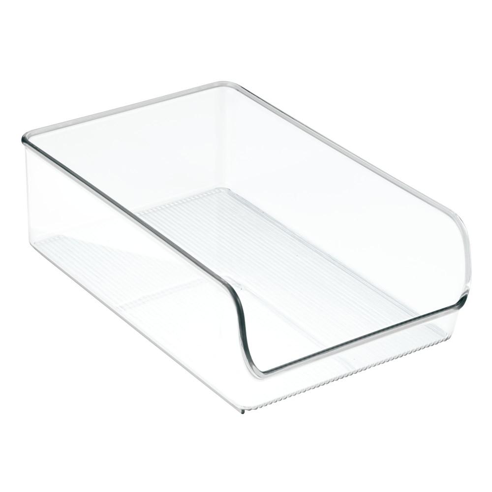 InterDesign Linus Binz Plastic Fridge and Pantry Organizer Large Clear