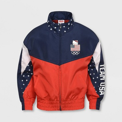 Girls' United States Olympic Team Windbreaker Jacket