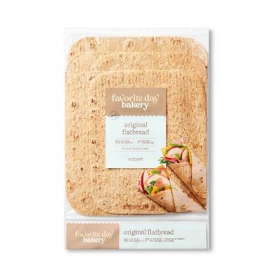Original Flatbread - 11.2oz /6ct - Favorite Day™