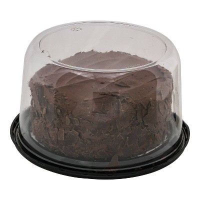 """Double Layer Chocolate Cake - 7"""" - Market Pantry™"""