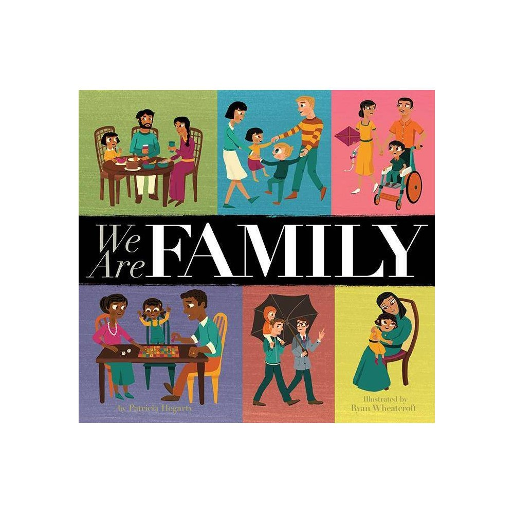 We Are Family Hardcover Patricia Hegarty