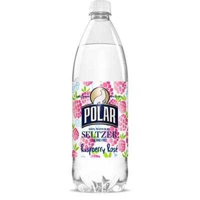 Polar Seltzer Water Raspberry Rose 1L