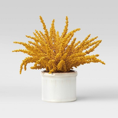 Medium Artificial Goldenrod Arrangement - Threshold™