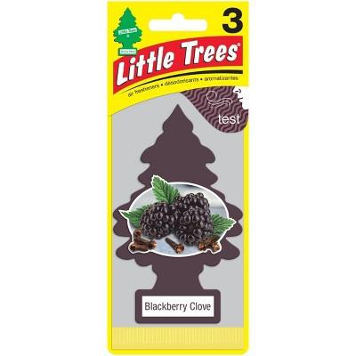 Little Trees 3pk Blackberry Clove Air Freshener