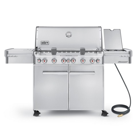 Weber® Summit S-670 Natural Gas Grill Model 7470001