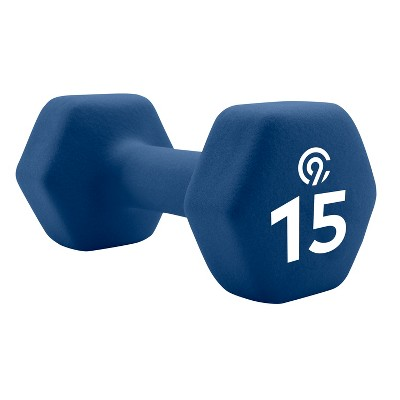 C9 Champion® Neoprene Hand Weight - Navy Blue (15lb)