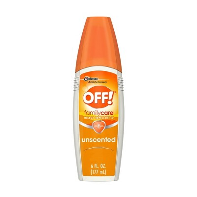 OFF! 6oz FamilyCare Insect Repellent Unscented