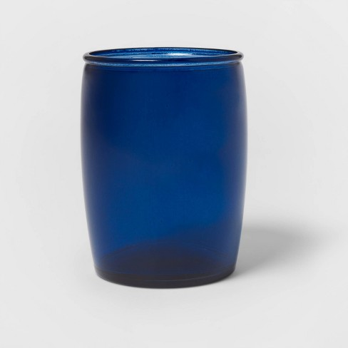 Recycled Glass Bathroom Tumbler Blue - Threshold™ - image 1 of 4