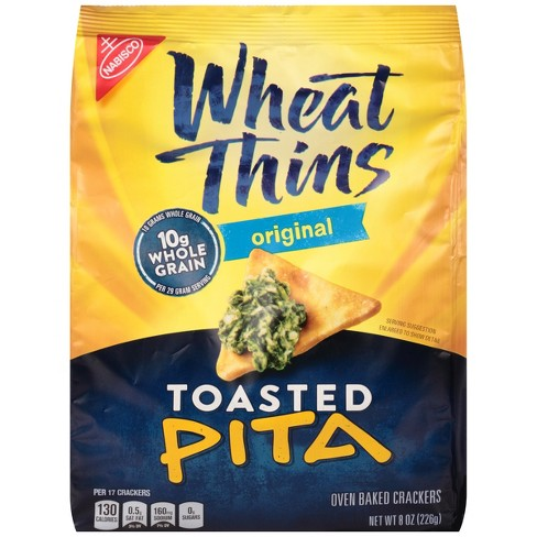 Wheat Thins Original Toasted Pita Chips - 8oz - image 1 of 3