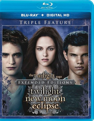 The Twilight Saga: Twilight/New Moon/Eclipse (Extended Editions)