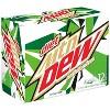 Diet Mountain Dew Caffeine Free Citrus Soda - 12pk/12 fl oz Cans - image 2 of 3