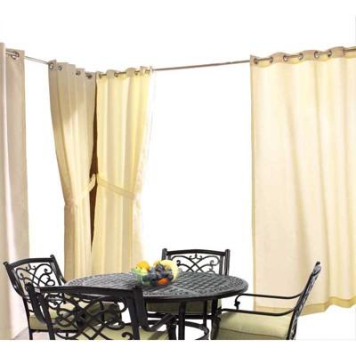 Outdoor Decor In & Outdoor Gazebo Solid Grommet Top Window Panel