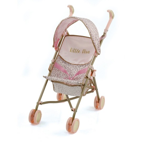 Little Diva: Doll Drive Sun Stroller image number null