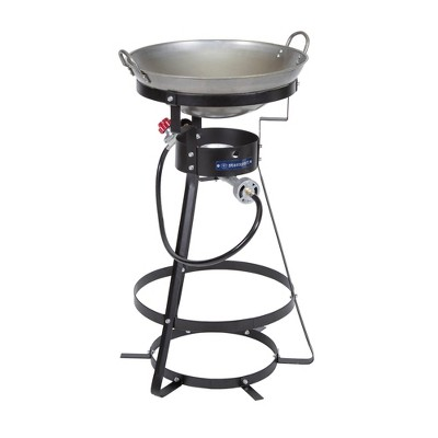 Stansport Outdoor Single Burner Stove With Wok