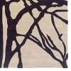 Trio Collection Winter Tree Area Rug - Cream / Charcoal (8' X 10') - image 2 of 4