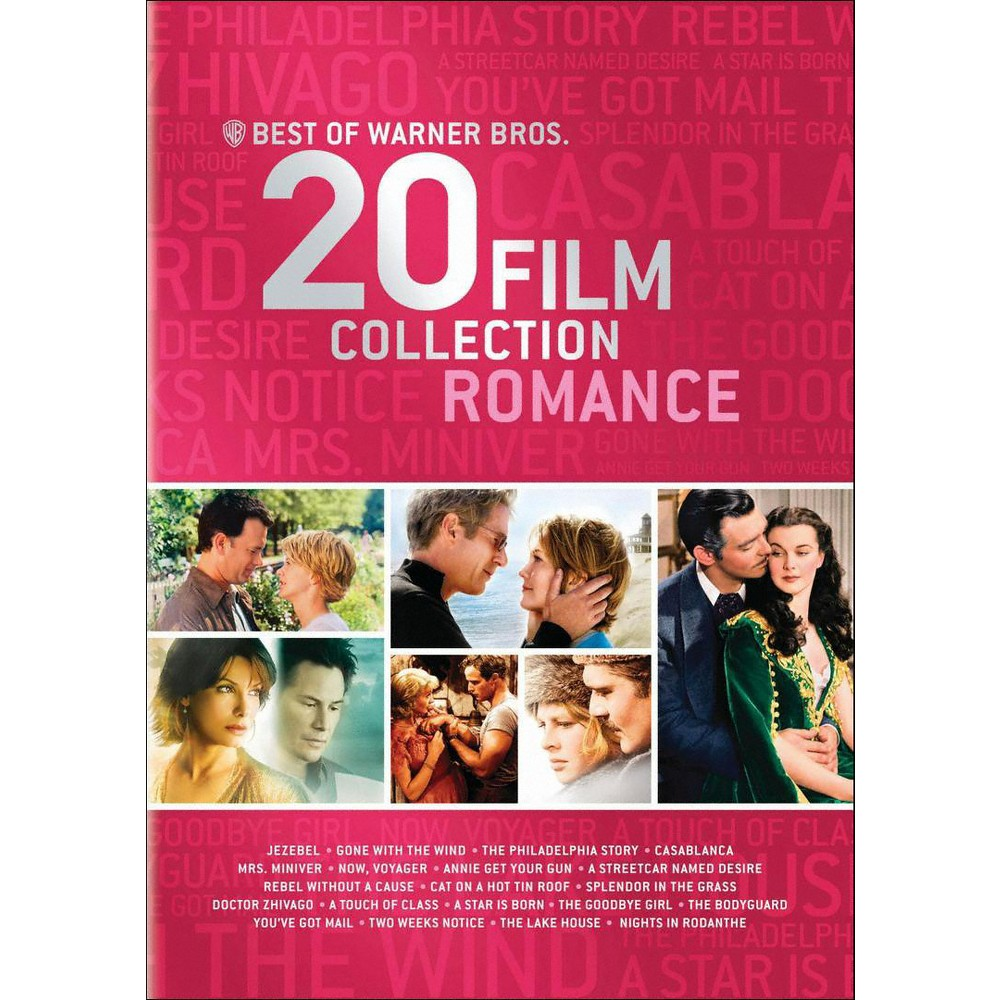 Best of Warner Bros.: 20 Film Collection Romance (DVD)(2013) Reviews