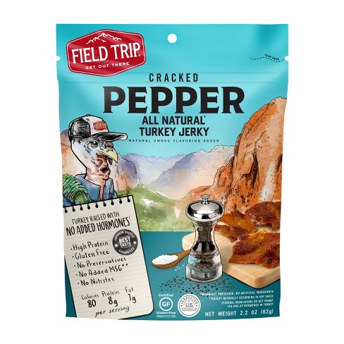 Field Trip® Cracked Pepper Turkey Jerky - 2.2oz - image 1 of 2