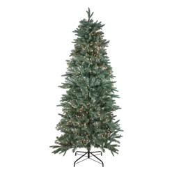 Northlight 6.5' Prelit Artificial Christmas Tree Washington Frasier Fir Slim - Clear Lights
