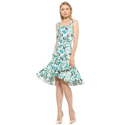 Alexia Admor Ariana Dropped Waist Flounce Dress