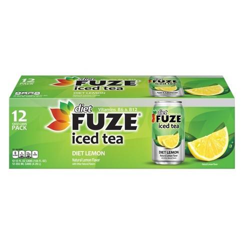 Diet Iced Tea - 12pk/12 Fl Oz Cans