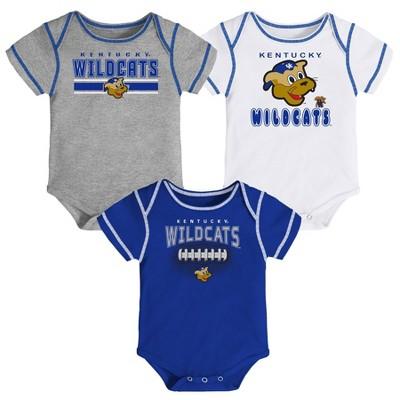Team Shirt Basketball Mascot Shirt Baby UK Set Baby Wildcat Bloomer Blue Wildcat Shirt Baby Kentucky Outfit Baby Wildcat Short Set