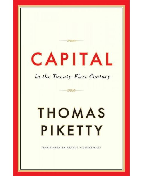 Capital in the Twenty-First Century (Hardcover) (Thomas Piketty) - image 1 of 1