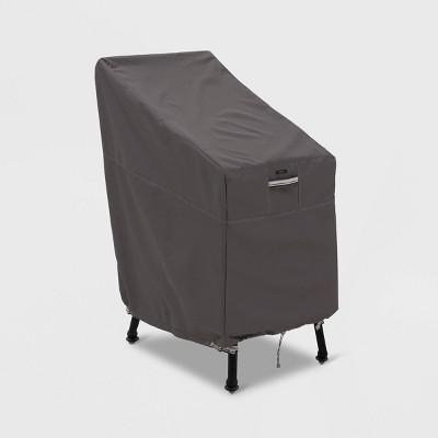 Ravenna Patio Bar Chair & Stool Cover Slate - Classic Accessories