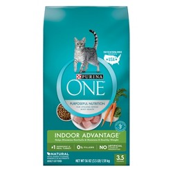 Purina® ONE Indoor Advantage Adult Premium Dry Cat Food